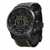 SUUNTO ELEMENTUM TERRA N/ BLACK/YELLOW LEATHER
