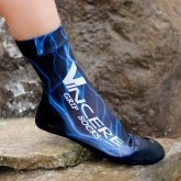 VINCERE BLUE LIGHTNING GRIP SOCKS