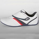 LONSDALE DARIER PERF WHITE NAVY RED