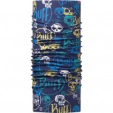 BUFF JUNIOR UV PROTECTION FUNNY SKULLS DARK NAVY