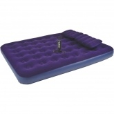 RELAX FLOCKED AIR BED QUEEN JL021470N