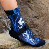 VINCERE GRIP SOCKS STRAPPED BLUE LIGHTNING