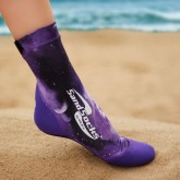 VINCERE SAND SOCKS PURPLE GALAXY
