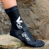 VINCERE GRIP SOCKS STRAPPED BLACK