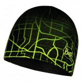 BUFF MICROFIBER REVERSIBLE HAT R-EXTENT BLACK